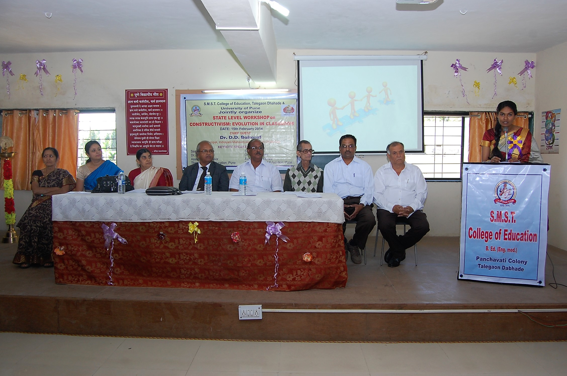 Inaguaral function of State level SEminar on Constructivism