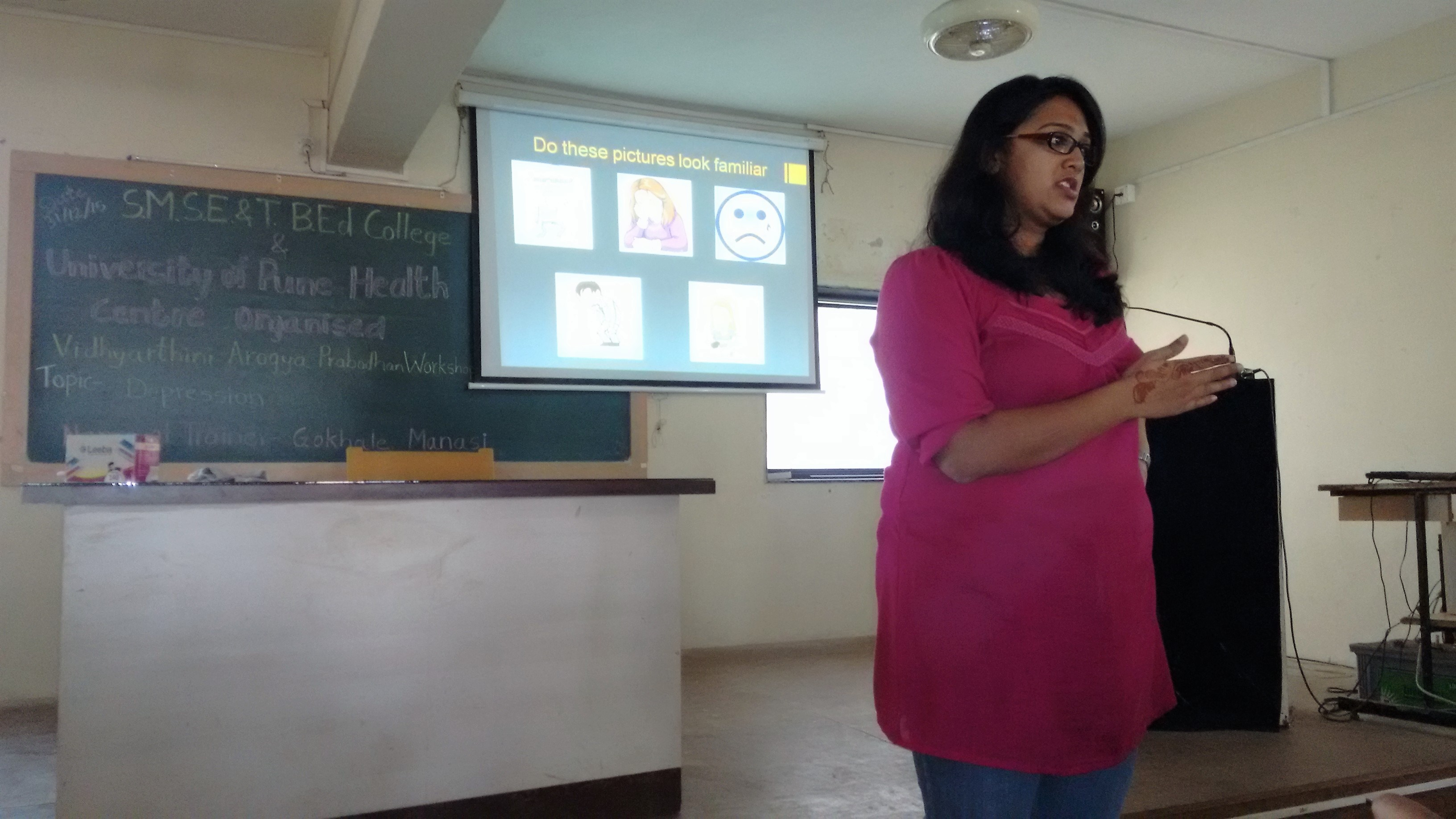 Ms  Manasi Gokhale on Balancing study   career and personal responsibilities