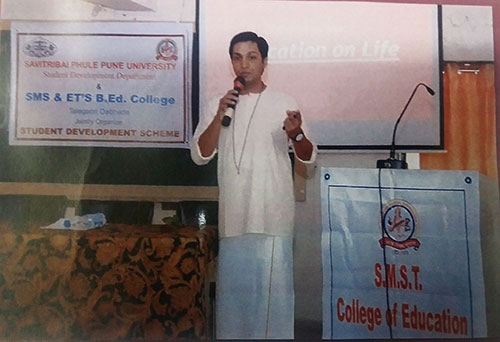 Mr  Mikhil Agrawal on Education for LIFE